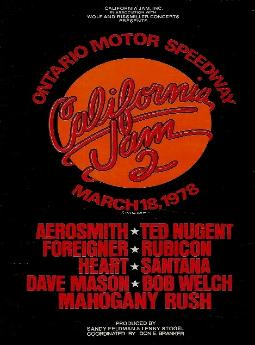 1979 FLORRIDA WORLD MUSIC FESTIVAL TANGERINE BOWL ORLANDO