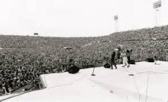 1981 Rock Super Bowl 12 Tangerine Bowl Orlando Florida